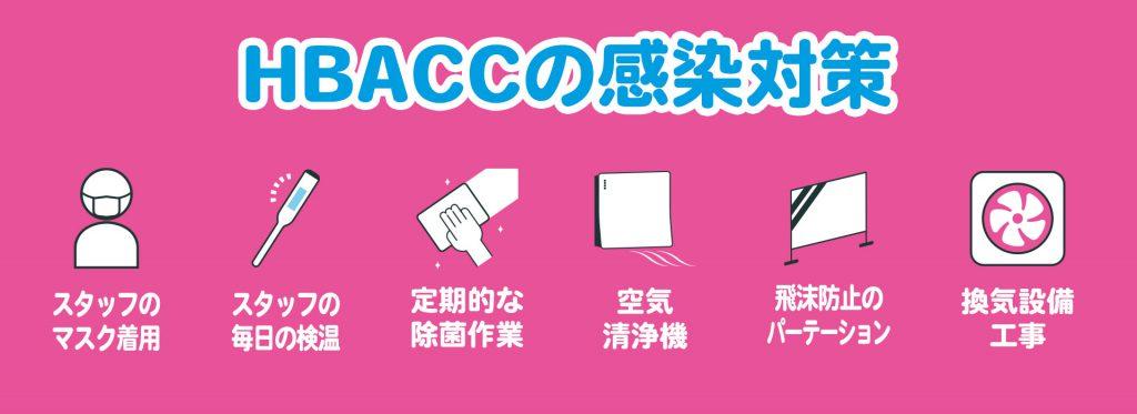 HBACCの感染対策